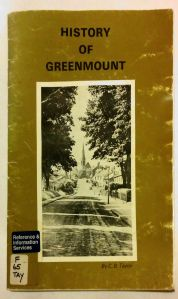 History of Greenmount