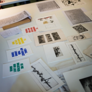 Selection of Artwork inspired by the Newspaper Archives