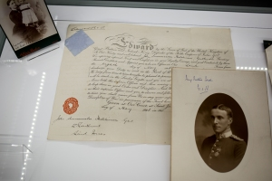 John Summerscale Hutchinson's commission papers on display
