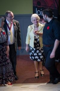 Mayor of Bury with her consort