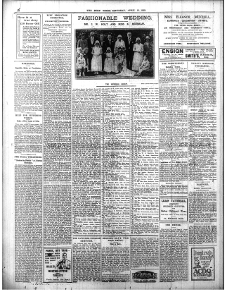 Image of a full page of the Bury Times Newspaper