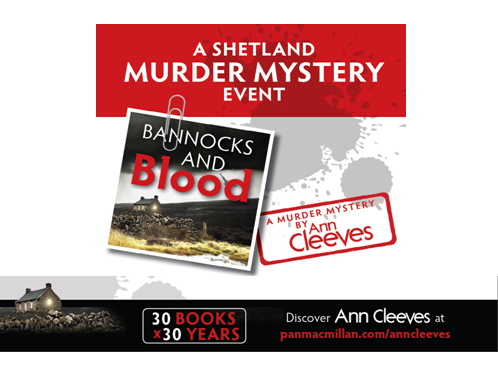 'A Shetland Murder Mystery Event' Poster